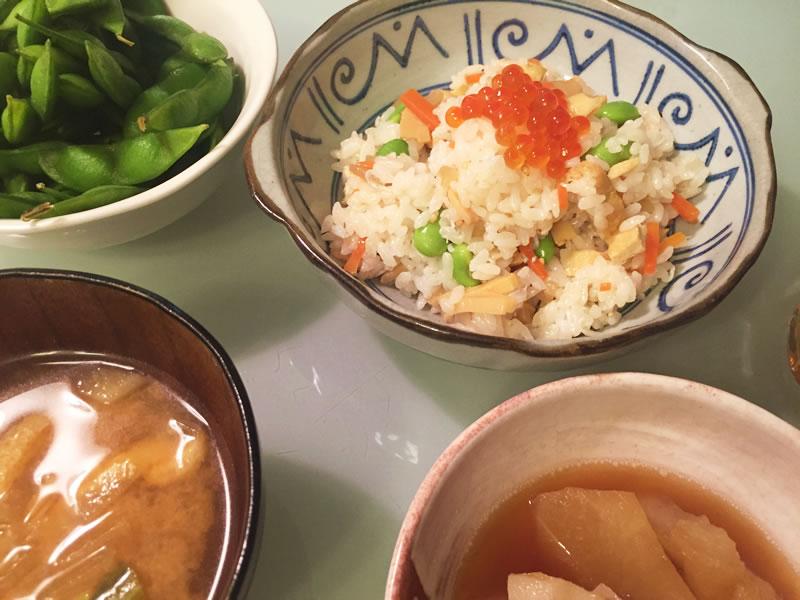 食材宅配コープでちらし寿司