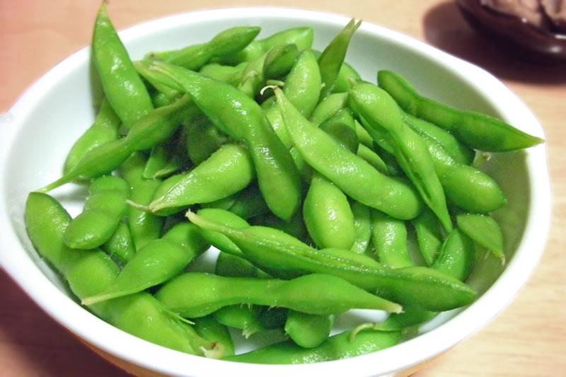 冷凍枝豆は便利で時短