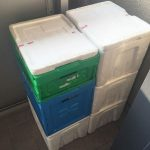 生協の保冷ボックス