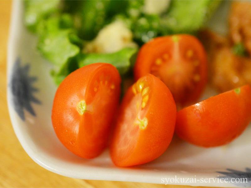 オイシックスお試しセットトマト調理