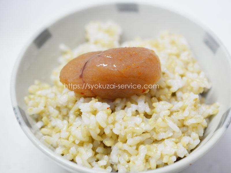 発芽玄米の底力の味は?